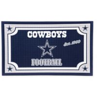 NFL Dallas Cowboys Embossed Door Mat