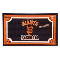 MLB San Francisco Giants Embossed Door Mat