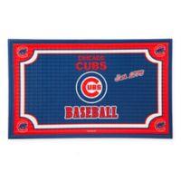 MLB Chicago Cubs Embossed Door Mat