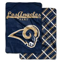 "NFL Los Angeles Rams ""Glory Days"" Cloud Throw Blanket by The Northwest"