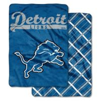 """NFL Detroit Lions """"Glory Days"""" Cloud Throw Blanket by The Northwest"""