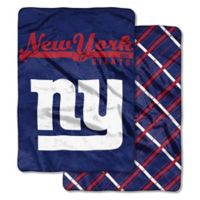 """NFL New York Giants """"Glory Days"""" Cloud Throw Blanket by The Northwest"""