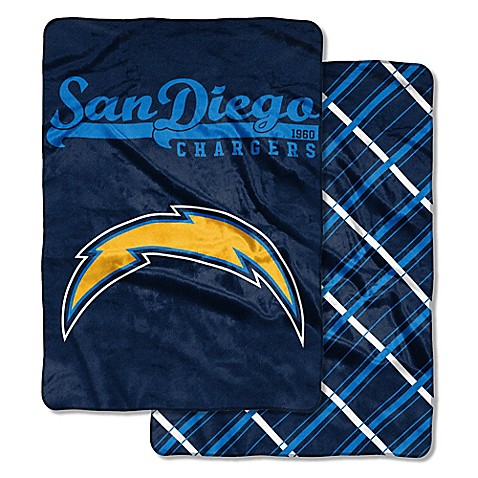 Nfl Los Angeles Chargers Quot Glory Days Quot Cloud Throw Blanket