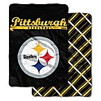 "NFL Pittsburgh Steelers ""Glory Days"" Cloud Throw Blanket by The Northwest"