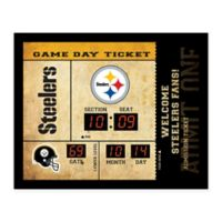 NFL Pittsburgh Steelers Bluetooth Scoreboard Wall Clock