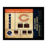 NFL Chicago Bears Bluetooth Scoreboard Wall Clock