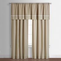 Spencer 82-Inch Window Curtain Panel in Taupe