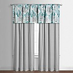 Claire Window Valance in Teal