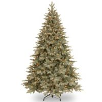 National Tree 7.5-Foot Frosted Arctic Spruce Pre-Lit Christmas Tree with Clear Lights