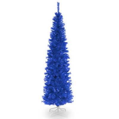 National Tree Company 6 Foot Tinsel Christmas Tree In Blue