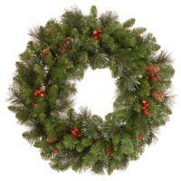 National Tree 24-Inch Crestwood Spruce Christmas Wreath