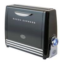 Nostalgia™ Electrics Bacon Express in Black