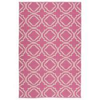Kaleen Brisa Portals 8-Foot x 10-Foot Indoor/Outdoor Area Rug in Pink