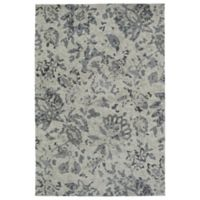 Kaleen Cozy Toes Impressions 8-Foot x 10-Foot Accent Rug in Grey