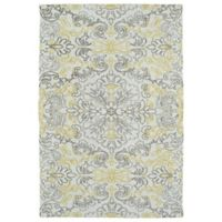 Kaleen Cozy Toes New Direction 3-Foot x 5-Foot Area Rug in Ivory
