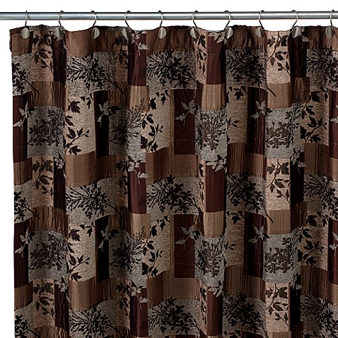 Lancaster Fabric Shower Curtain by Croscill - Bed Bath & Beyond