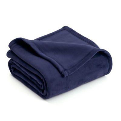 8a35d5d7e3a7 Buy Navy Blue Twin Blanket   Bed Bath & Beyond