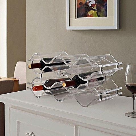 Modway Reserve 10 Bottle Tabletop Wine Rack Bed Bath