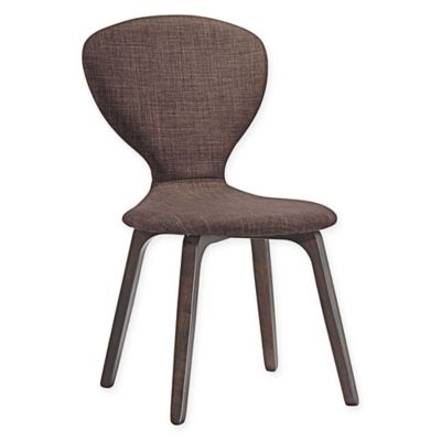 Modway Tempest Dining Side Chair In Brown