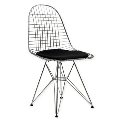 Modway Tower Dining Side Chair In Black