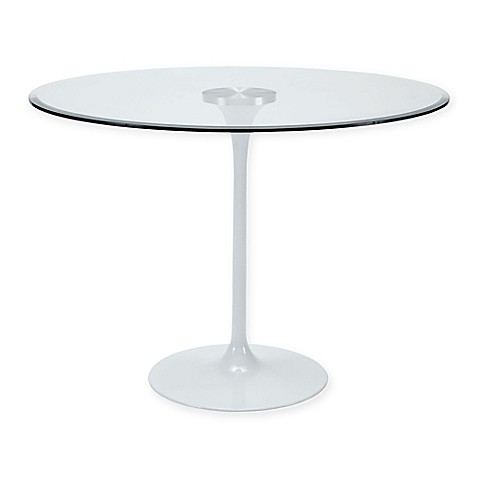 Modway Circuit Glass Top Dining Table Bed Bath Beyond