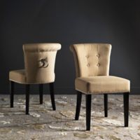 "Safavieh Sinclair 21"" H Ring Chair in Taupe (Set of 2)"