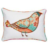 Kumasi Bird Rectangle Throw Pillow