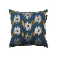 Bombay® Ikat Chevron Square Throw Pillow in Indigo