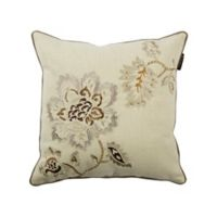 Bombay® Declan Bloom Square Throw Pillow in Off White