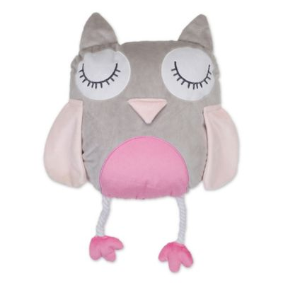 levtex home gillian owl pillow - Owl Decor