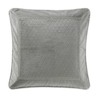 Waterford® Linens Ansonia European Pillow Sham in Pewter
