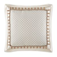 Waterford® Linens Olivette European Pillow Sham in Silver/Ivory