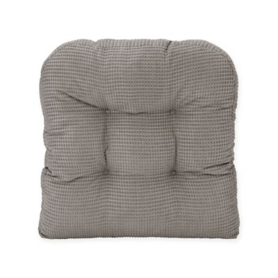 Therapedic® Memory Foam Chair Pad In Alloy Grey