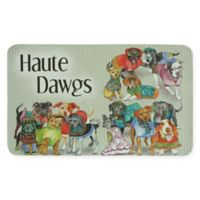 Bacova 17.5-Inch x 29-Inch Haute Dawg Kitchen Mat