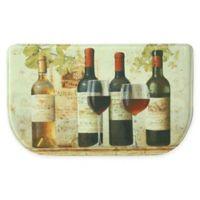 Bacova 18-Inch x 30-Inch Wine Tasting Memory Foam Kitchen Slice Rug