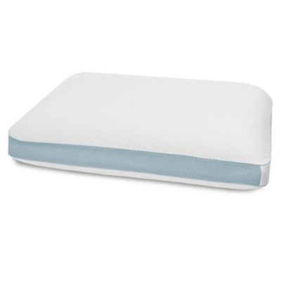 therapedic cool vent air oversized pillow in white