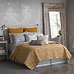 Seville Full/Queen Printed Coverlet in Yellow
