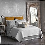Seville Tile Print Full/Queen Coverlet in Grey