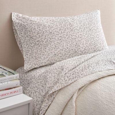seville queen sheet set in white