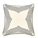 Seville Embroidered Geometric 20-Inch Square Throw Pillow in Ivory