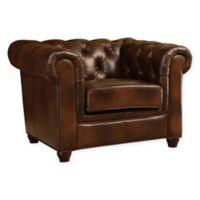 Abbyson Living Arcadian Leather Arm Chair