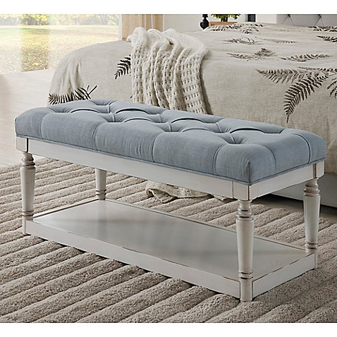 Legacy Home Fashion Linen Storage Bench