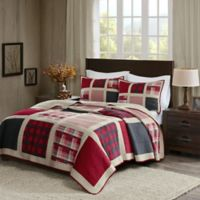 Woolrich® Huntington King/California King Reversible Quilt Set in Red