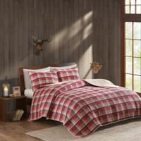 Woolrich® Tasha King/California King Reversible Quilt Set in Red