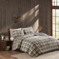 Woolrich® Tasha Full/Queen Reversible Quilt Set in Tan