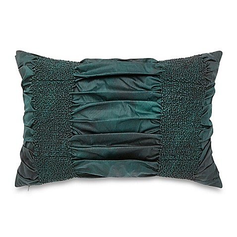 Green Rectangle Throw Pillow : Vue Varadero Rectangle Throw Pillow in Green - Bed Bath & Beyond