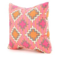 DENY Designs Sharon Turner Square Throw Pillow in Tangerine