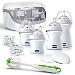 Chicco® NaturalFit® 10-Piece All You Need Bottle Starter Set in Clear