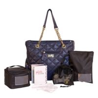 J.L. Childress jay elle 6-Piece Breast Pump Bag in Navy