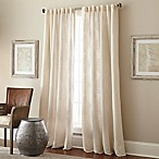 Talia 108-Inch Rod Pocket/Back Tab Window Curtain Panel in Ivory